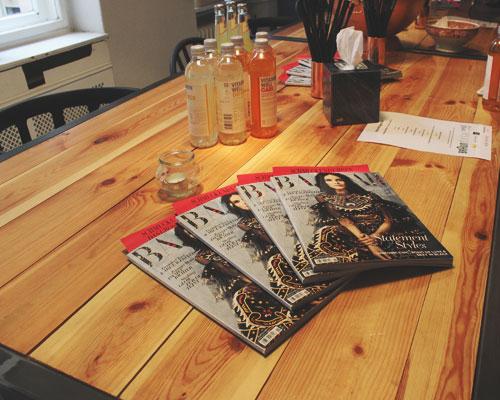 Bazar Magazin Beauty Blogger Café
