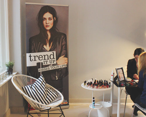 trend IT UP beim Beauty Blogger Café