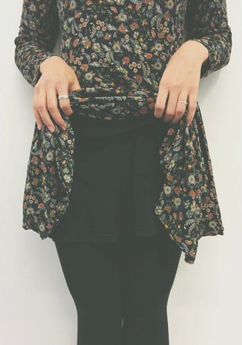 Kleider übereinander tragen