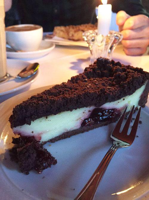 Café Heider Potsdam Schoko Kirsch Torte