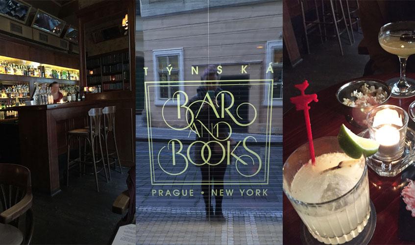 Týnska Bar and Books Prague