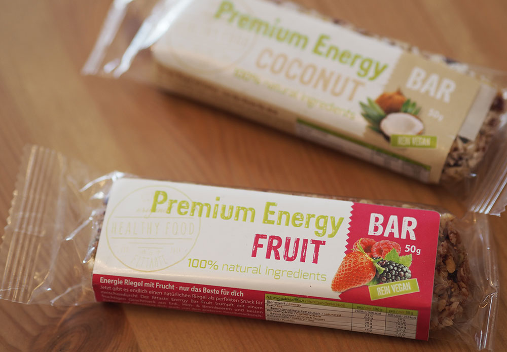 Premium Energy Bar Fruit