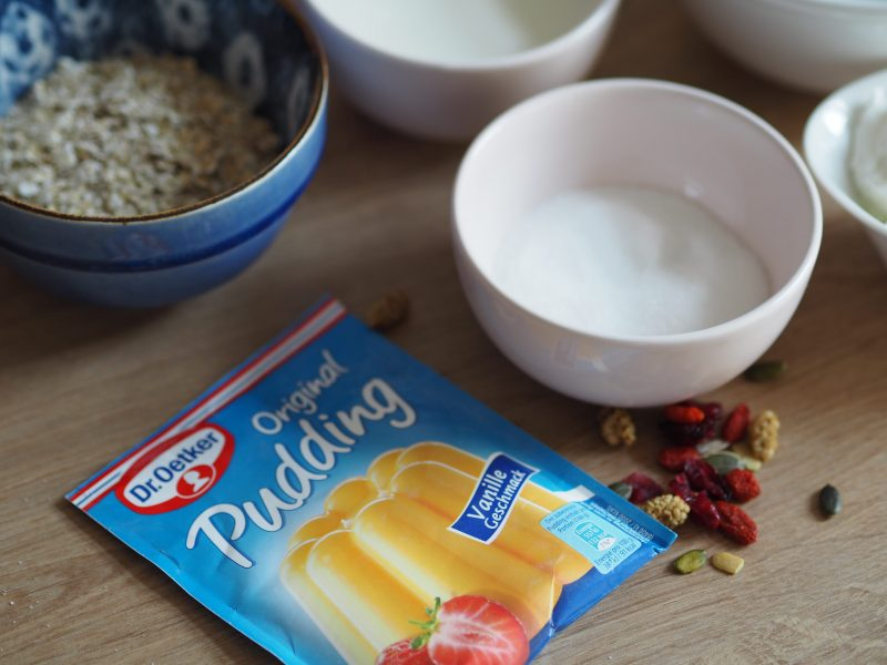 Zutaten Pudding Oats