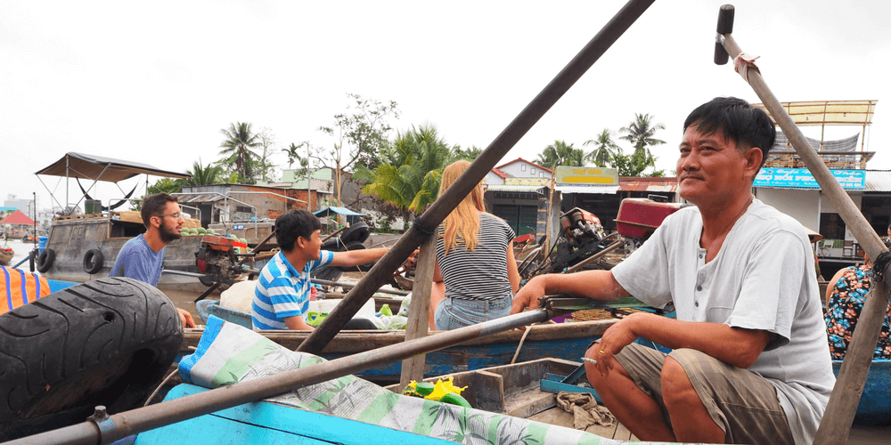 Floating Market Mekong-Delta