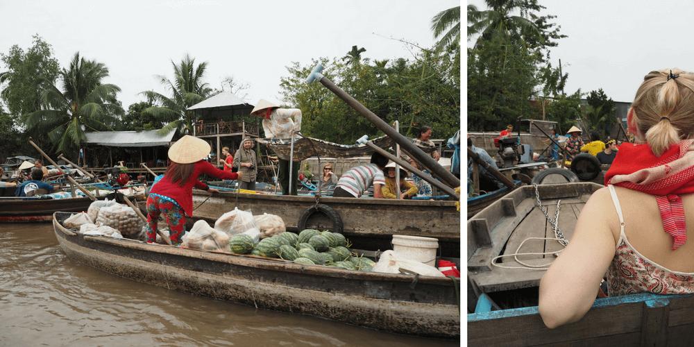 Phong Dien Markt