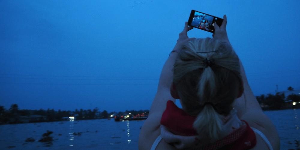 selfie Mekong-Delta
