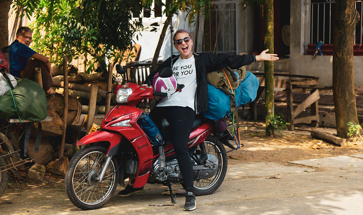 motorradtour durch vietnam